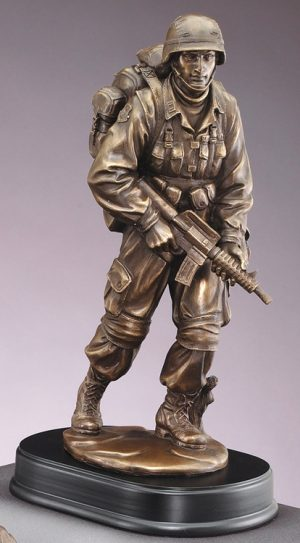 MIL198 Military Statue