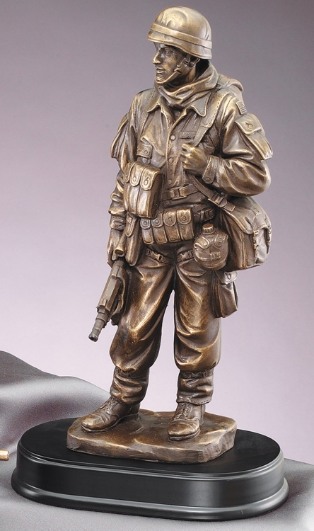 MIL201 Military Statue