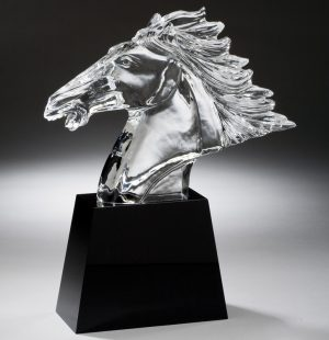Crystal Horse Head CRY300