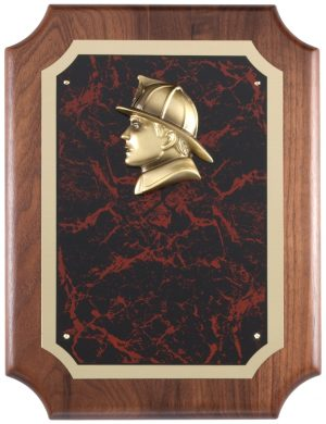 AT100 Firefighter Plaque