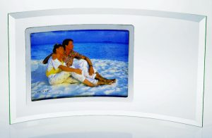 Glass Crescent Picture Frame G535SE G557SE