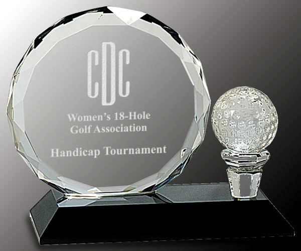 CRY026S Golf Trophy