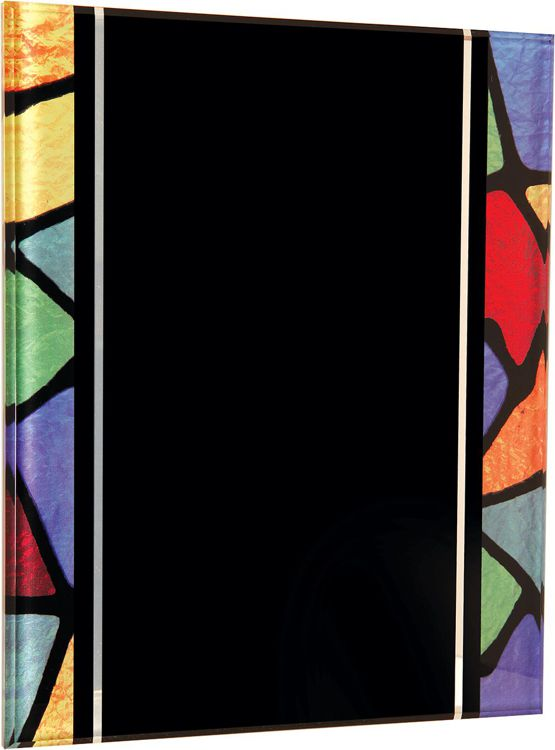 ART2810 Stained Glass Acrylic Plaque