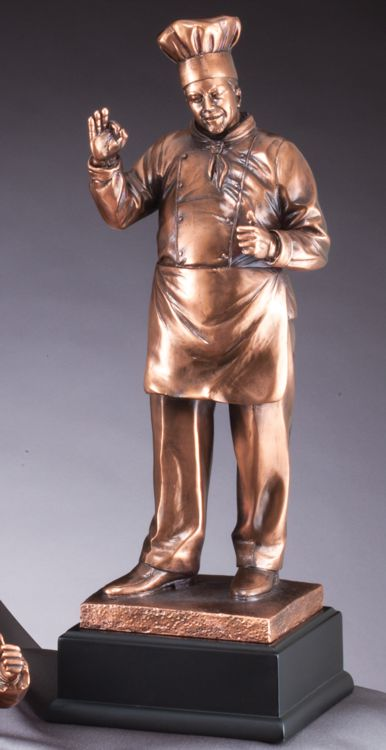 RFB324 Chef Statue Trophy