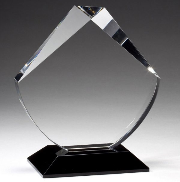 CRY331 Searchlight Crystal Trophy