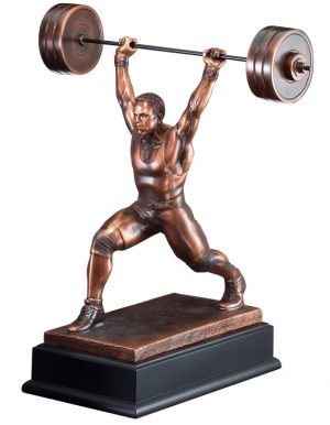 Powerlifting Trophy RFB087