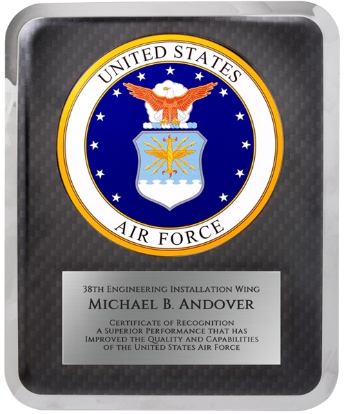 Air Force Seal Plaque HER221